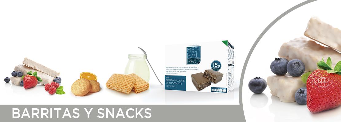 Barritas y snacks