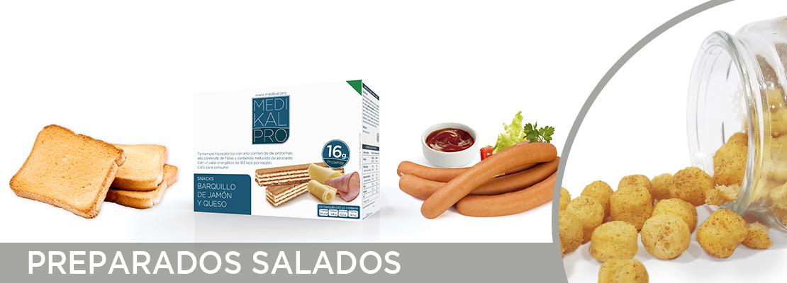 Preparados salados