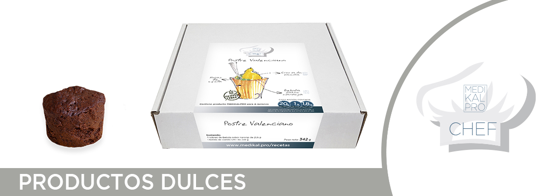 CHEF - Productos dulces