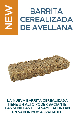 Barrita cerealizada de avellanas