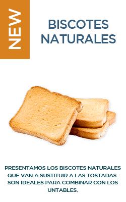 Biscotes naturales