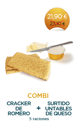 Pack Cracker de romero + Untables de queso