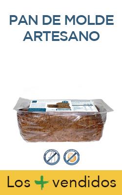 Pan de molde artesano