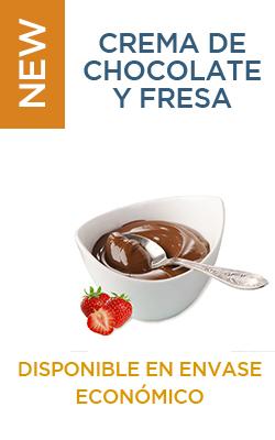 Envase Económico Crema de chocolate y fresa