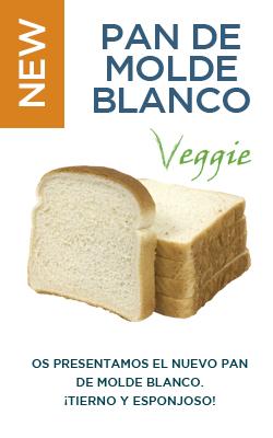 Pan de molde blanco (350 gr)