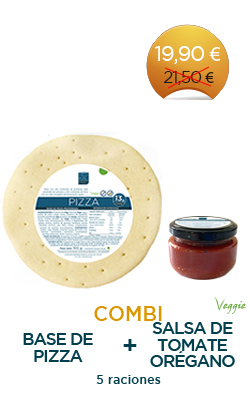 Pizza + Salsa de Tomate y Orégano