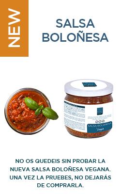Salsa boloñesa vegana (320g)