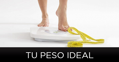 Tu Peso ideal