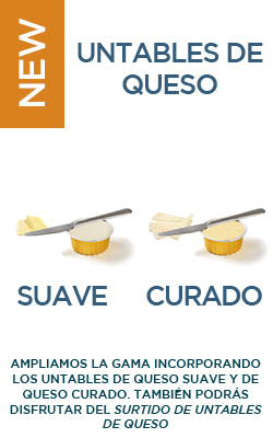 Untables de queso - Mix de untables (8uds)